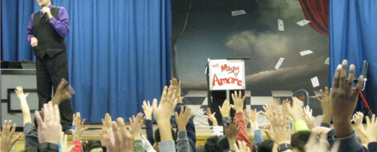 Amore Amazes Kids at School!