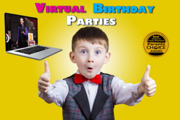Live Virtual Party Magician